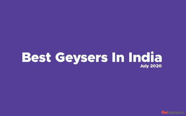 Best 25 Litre Geysers In India